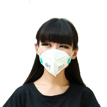 中体倍力雾霾防护口罩B02(10枚装)
