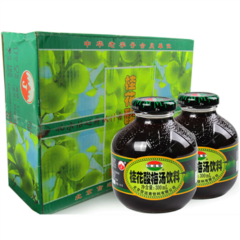 信远斋桂花酸梅汤300ml(12瓶/箱)