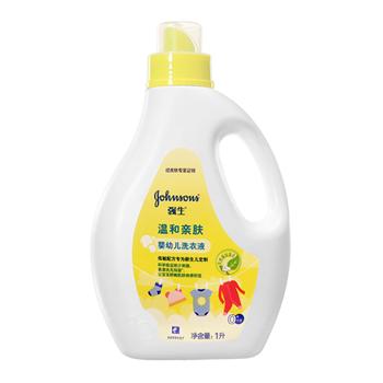 美国强生(Johnson)温和亲肤婴幼儿洗衣液1L
