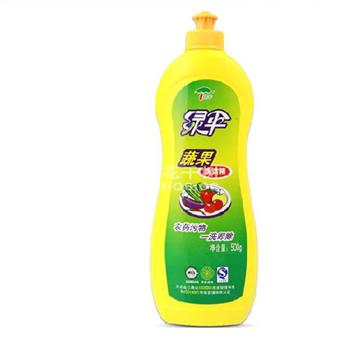 绿伞蔬果洗洁精500g*2