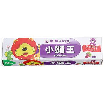 狮王(Lion)小狮王木糖醇儿童牙膏*4