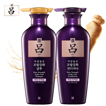 韩国爱茉莉吕滋养韧发密集强韧特惠装400ml洗发水加400ml护发乳