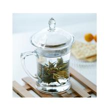青苹果品尚系列玻璃热饮杯茶饮杯EZ1005