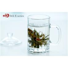 青苹果品尚系列玻璃热饮杯茶饮杯EZ1006