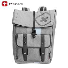 瑞士军刀swissgear15.1英寸休闲型双肩电脑背包SA7799