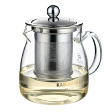 金灶茶道杯金灶飘逸杯正品耐热玻璃泡茶壶茶具花茶杯A-02