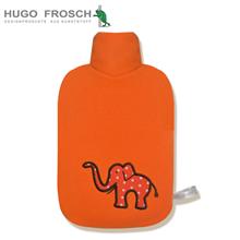 德国HugoFrosch热水袋开心动物园系列橘色大象0458