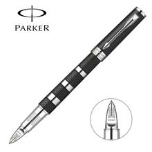 派克精英松烟墨银环超滑笔