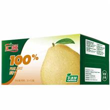汇源100%梨汁便携装1L(12盒/箱)