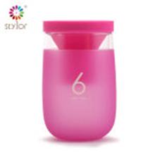 Stylor花色中号带茶漏过滤感温变色杯STB-0511