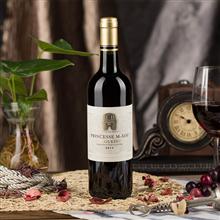 法国莫艾丝公主朗格多克干红葡萄酒(中粮原瓶进口红酒)750ml/瓶