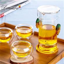 朵彩玻璃茶具DC-5005C