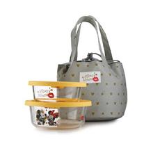 迪士尼Super Star保鲜盒提袋组DSM-CF150