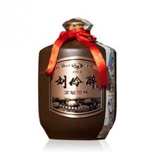 刘伶醉万坛酒林浓香型白酒60度500ml(1瓶装)