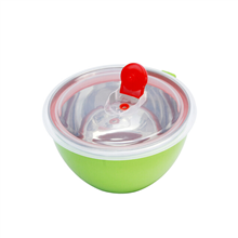 奥丁爱语系列不锈钢多用保鲜碗OD-00721(1000ml定制款)