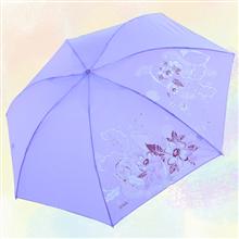 天堂伞339S丝印高密聚酯三折晴雨伞