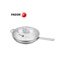 西班牙Fagor法格卡门中华无涂层中式炒锅30CM