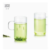 尚明耐热玻璃绿茶杯CP32/2
