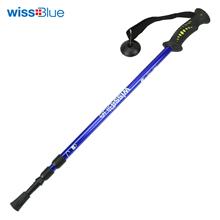 维仕蓝wissblue三节可调超轻专业登山杖WA8039