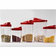 多样屋PASSION食品密封罐5件套组TA110203017ZZ