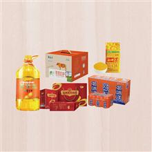 金龙鱼特香花生油5L+沁州牌黄小米真空塑袋500g+北冰洋橙汁汽水330ml(24听/箱)+十月稻田