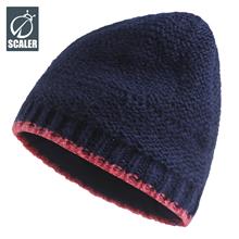 思凯乐户外帽秋冬季男女通用休闲保暖条纹针织帽S7214263