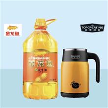 金龙鱼特香花生油5L+拓璞迷你烧水壶DK342
