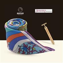 奥罗拉(aurora)独角兽物语系列丝巾B1-055+莱克(LEXY)吉米黄金美容棒HC-FM101