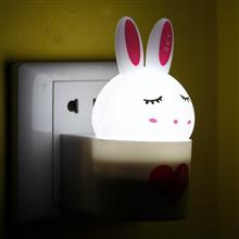 银之优品迷你光控兔兔小夜灯YH-101*2