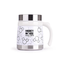 迪士尼米奇经典黑白不锈钢保温杯DSM-1412(小)