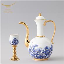 国瓷永丰源海上明珠10头酒具(480ml)
