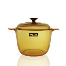 美国康宁晶彩透明锅VS-3.5(汤锅)3.5升