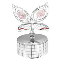 卡斯杜克兰花蝴蝶-镜面小音乐盒U0208-081-CPI