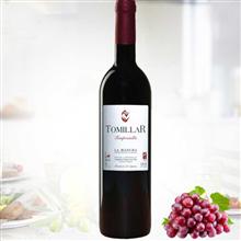 托美亚红酒精选干红葡萄酒750ml经典木盒装