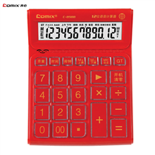 齐心大台语音型计算器C-8988
