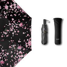 香港蕉下(BANANA UNDER)三折防紫外线小黑伞依桃