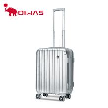 爱华仕(OIWAS)拉杆箱万向轮方形拉丝旅行箱密码行李箱20寸OCX6197