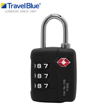 英国蓝旅TravelBlueTSA豪华三码锁036