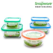 美国康宁SNAPWARE易洁保鲜盒SW-EC1504(七件套)