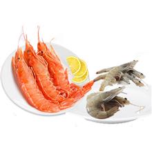 三都港阿根廷红虾2KG盒装(冷链配送,请务必备注收货时间)+三都港优选厄瓜多尔白虾30/40(活冻)