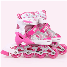 Hello kitty LED灯manbetx万博官方下载滑冰鞋(大包装)HCB71138-8