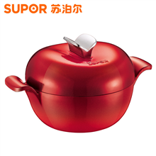 苏泊尔SUPOR珐琅铸铁锅樱桃型料理锅FLT20A3