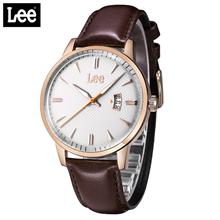 LEE休闲简约男表复古商务皮带腕表LEF-M73DRL5-7R