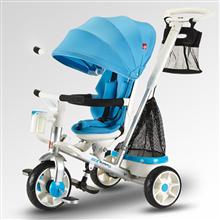 好孩子gb好孩子三合一多功能骑行推行儿童亲子三轮车SR1200R