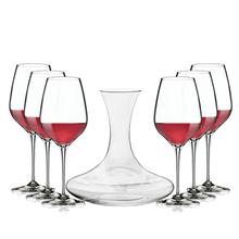 意大利波米欧利BormioliRocco优雅醒酒器红酒杯7件套ACTB-J003Y