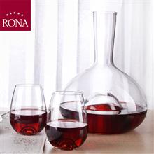 斯洛伐克洛娜RONA泪滴醒酒器三件套RN-W002L