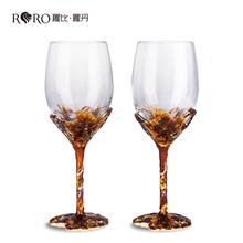 罗比罗丹金色收获大红酒杯R-9384J