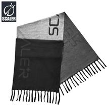 思凯乐SCALER男女款保暖双面加宽加厚围巾披肩S9224059