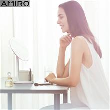 AMIRO高清日光智能led美妆镜AML004(MINI小白镜)