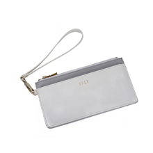 ELLE(她)长款便携卡包/手拿包